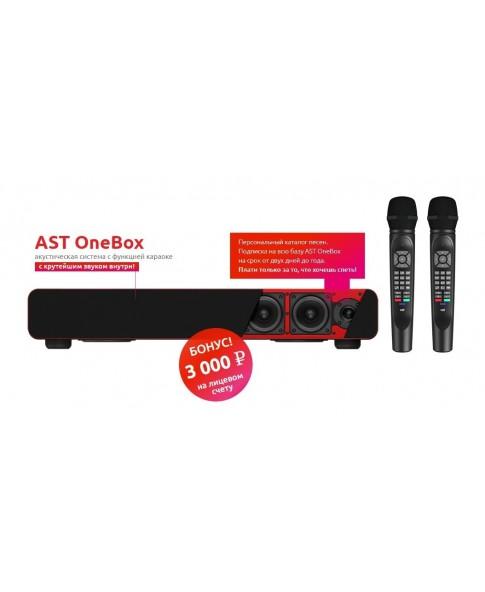 AST ONEBOX - караоке система для дома самого профессионального уровня, акустическая система, саундбар, BLUETOOTH