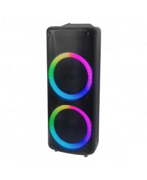 """ELTRONIC 20-16 """"DANCE BOX 300"""" - аккумуляторная акустическая колонка USB, Bluetooth, караоке, 1200 Вт, световая LED панель """"ACTIVE RING"""""""