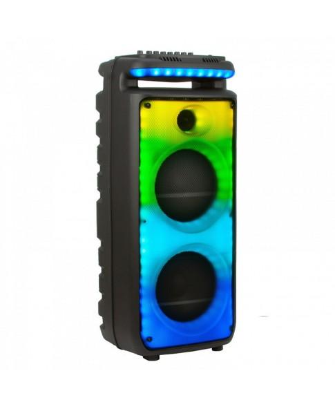 """ELTRONIC EL 20-29 """"WAVE 800"""" - аккумуляторная беспроводная акустическая система с поддержкой Bluetooth, USB, караоке, 800 Вт, активная световая LED панель"""