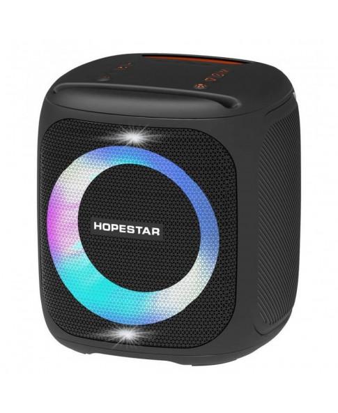 """Портативная аккумуляторная колонка Hopestar """"Party 100"""" с функцией караоке, LED панель """"ACTIVE RING"""", Bluetooth/ USB/ micro-SD/ AUX, радиомикрофон"""
