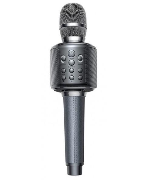 """Madsound Y11S GRAY (серый) - беспроводной караоке блютус """"Bluetooth"""" микрофон нового поколения, серия """"S"""""""