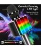 TOSING Q9 LIGHT - беспроводной bluetooth-микрофон, изменение голоса, динамическая LED подсветка